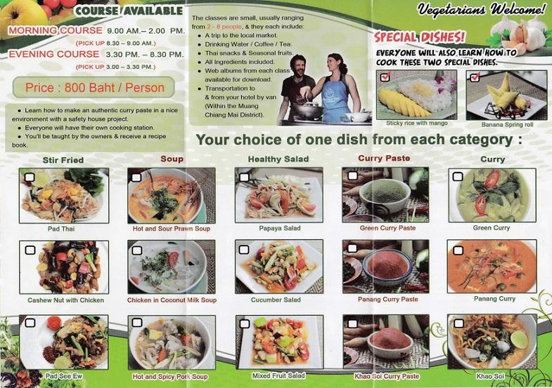 Tom Yum Thai Cooking School