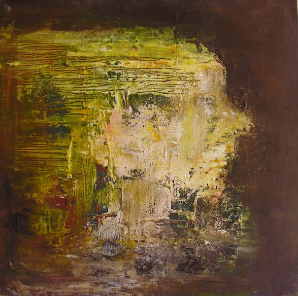 """""""La Femme aux deux Visages"""" Acrylique sur toile"""