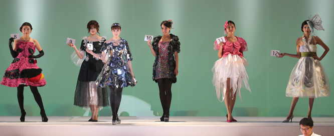 NDKファッションデザインコンテスト コンテスト風景