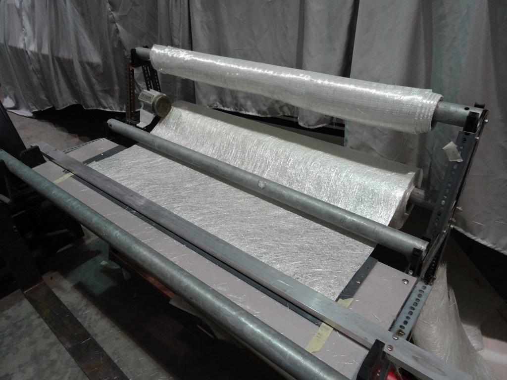 Glasfaserrollen für GFK Verarbeitung
