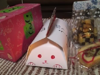 いただきましたおやつ★takaraさん ふるたこさん 浩美さん ありがとうございます★