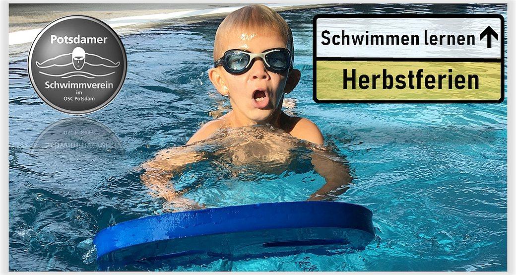 Herbstferien = Schwimmen lernen
