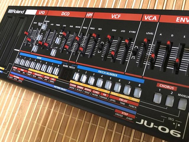 Xtique JUX6, Instrument Overlay (Bedien-Schablone/Skin/Folie) - für Roland Boutique JU-06