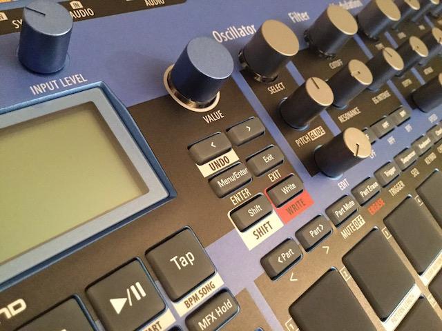 Xtribe Blue, Instrument Overlay (Bedien-Schablone/Folie) - für Korg Electribe 2 Synthesizer