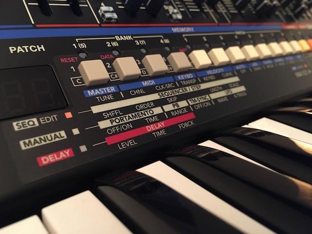 Xtique JUX6, Instrument Overlay (Bedien-Schablone/Skin/Folie) - für Roland Boutique JU-06A