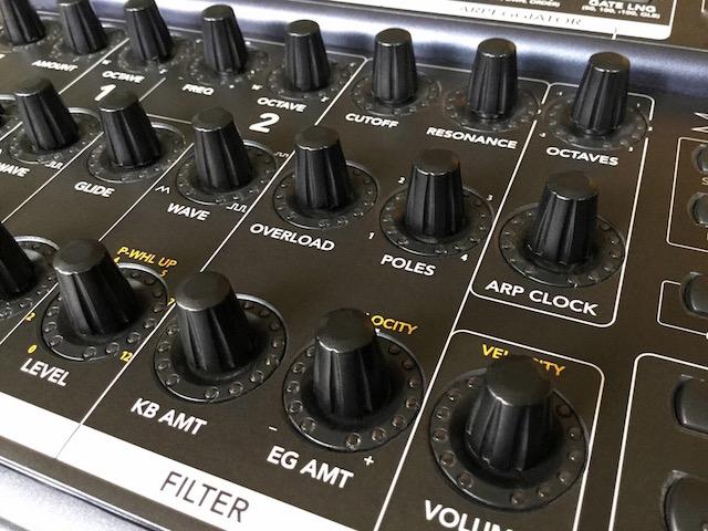 Xphatt BCR, Behringer BCR2000 MIDI Controller Overlay - for Moog Little/Slim Phatty