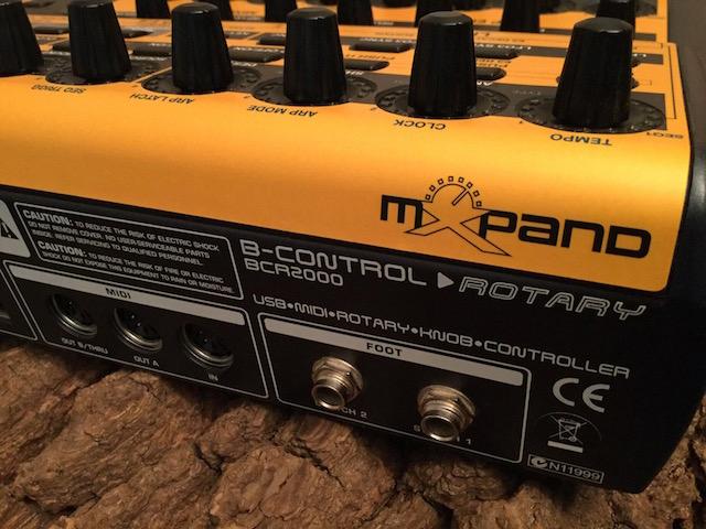 Xmoph BCR, Behringer BCR2000 MIDI Controller Overlay - für DSI Dave Smith Instruments Mopho