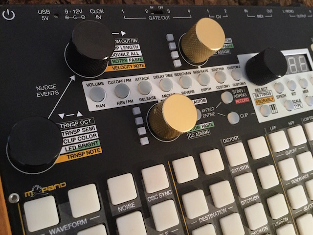 Xluge Complete, Instrument Overlay (Bedien-Schablone/Skin/Folie) - für Synthstrom Audible Deluge