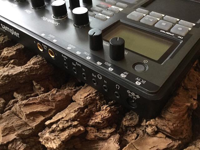 Xtribe Black, Instrument Overlay (Bedien-Schablone/Skin/Folie) - für Korg Electribe 2 Sampler