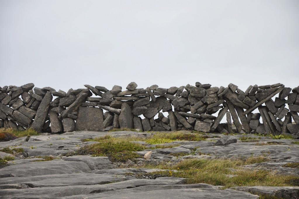 Mur de pierre parfaitement agencées