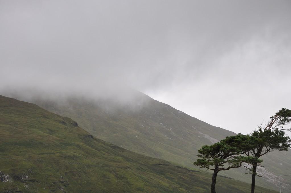 Brume sur les monts du Connemara