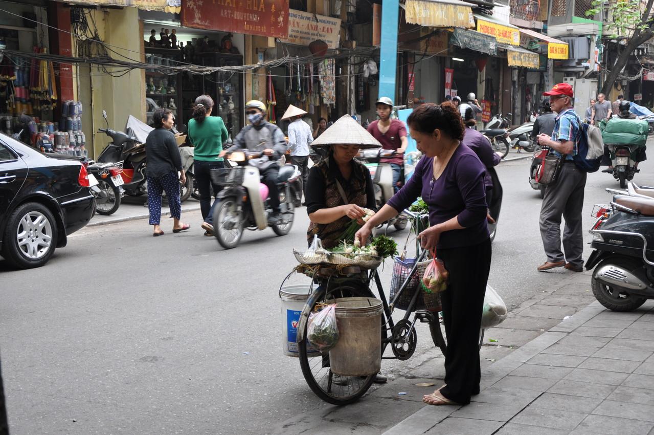 Hanoï : scène de rue