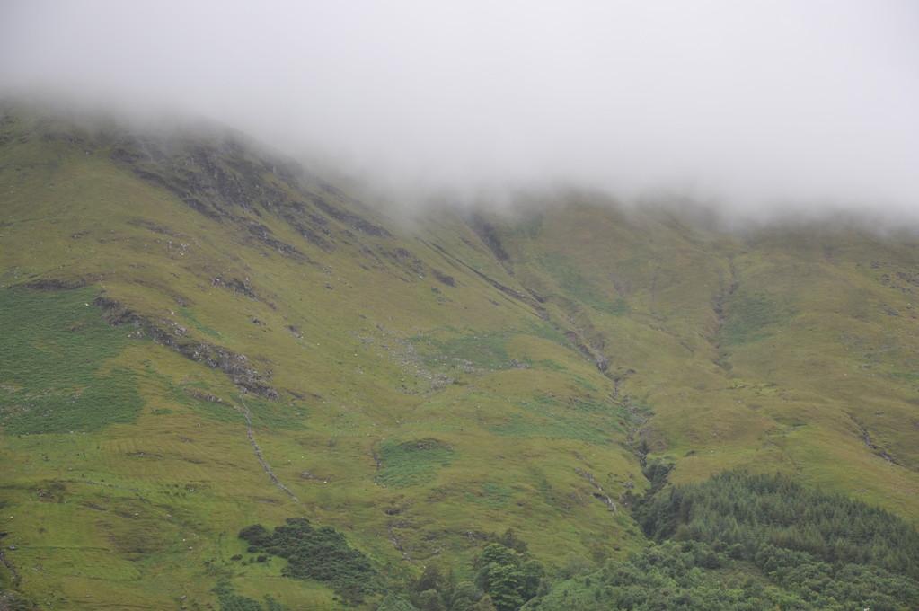 Brouillard sur le Connemara