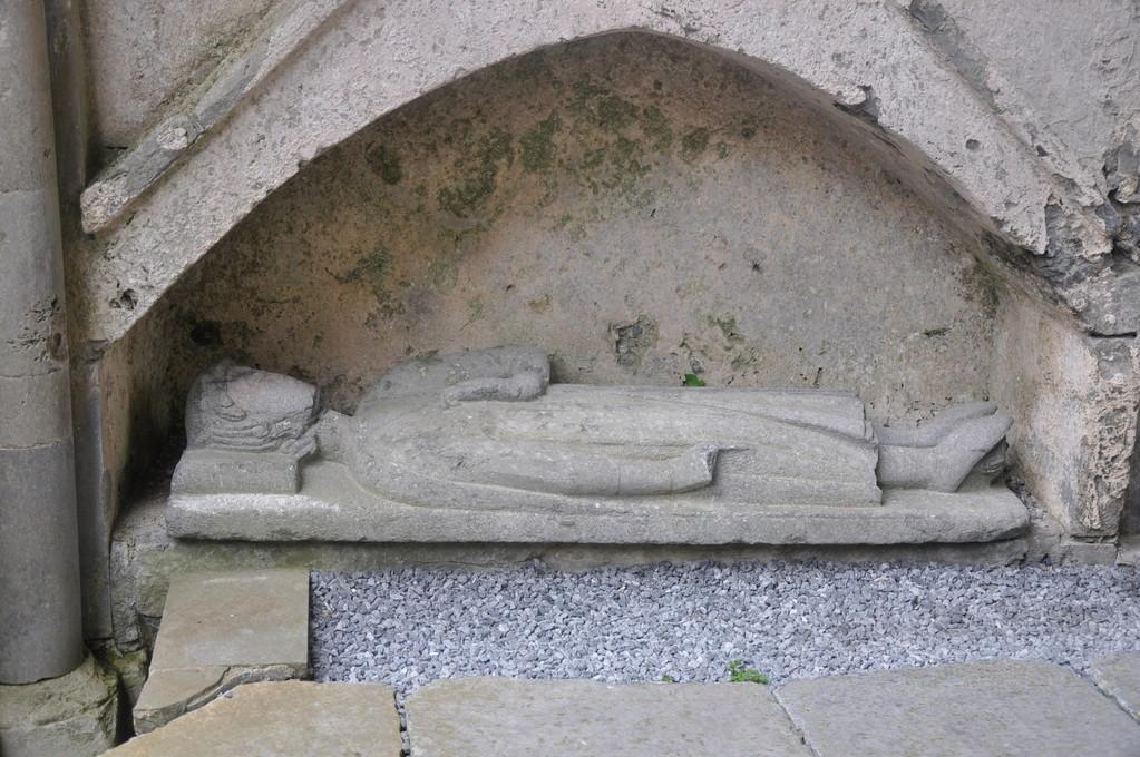 Gisant de Conor O'Brien, bienfaiteur de l'abbaye, petit-fils de Donal