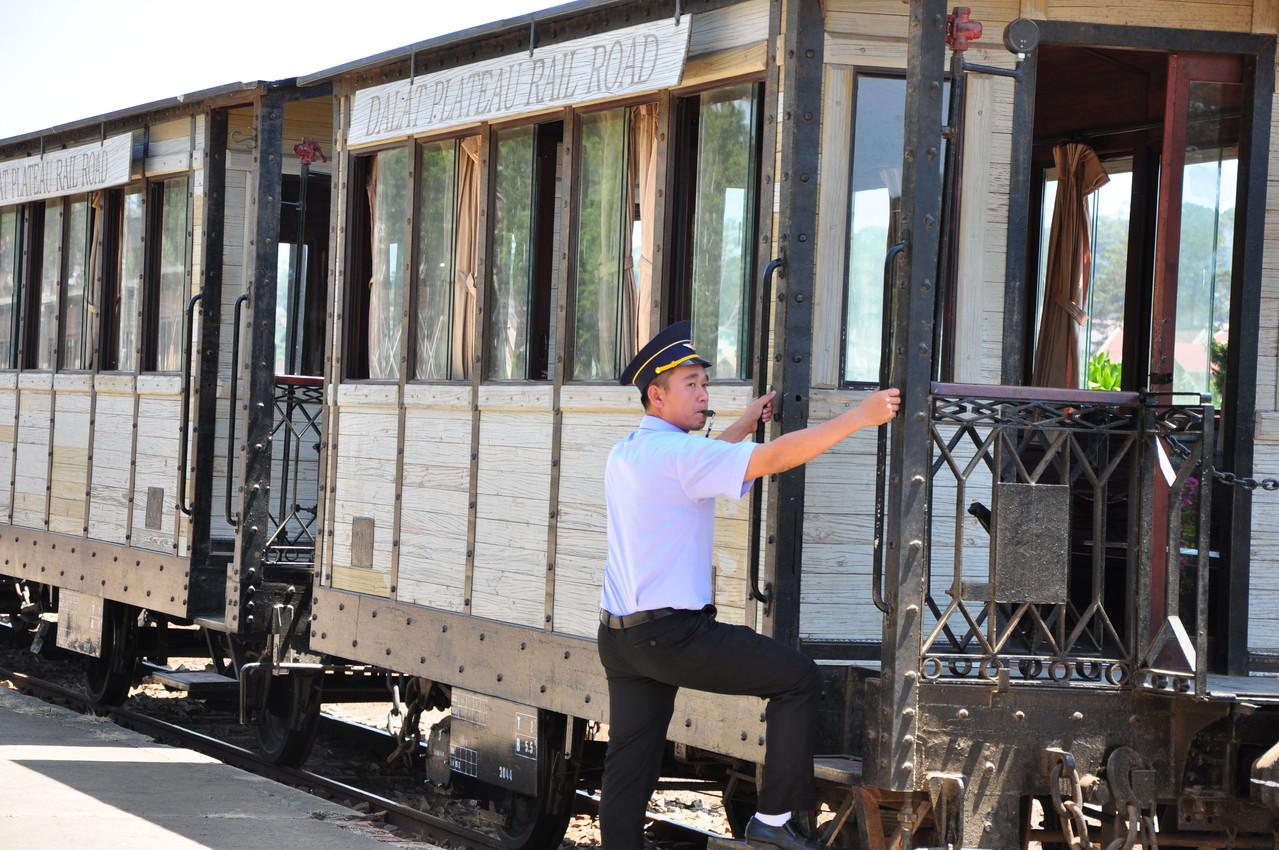 Dalat : le train va partir !