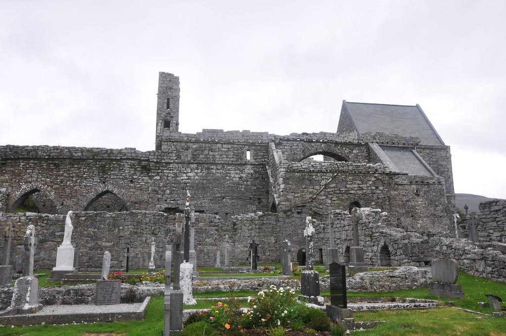 Abbaye de Corcomroe et son cimetière