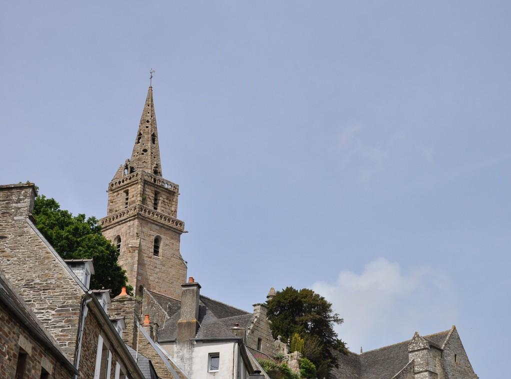 Clocher de l'église de Brélévenez