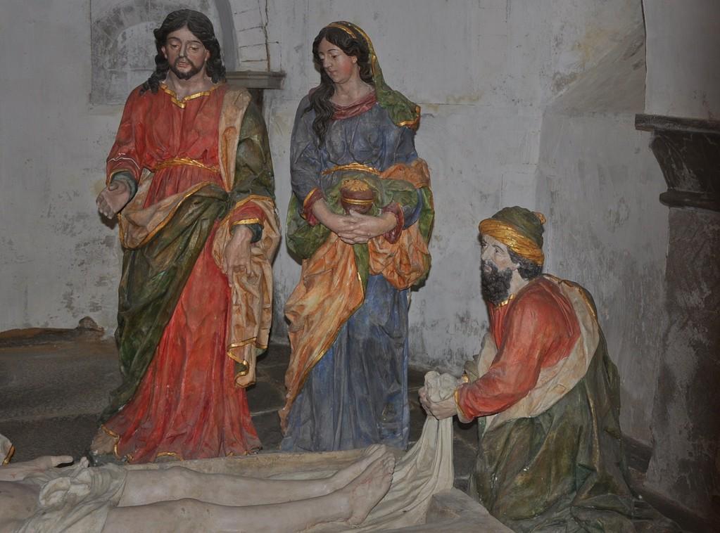 Mise au tombeau (détail)