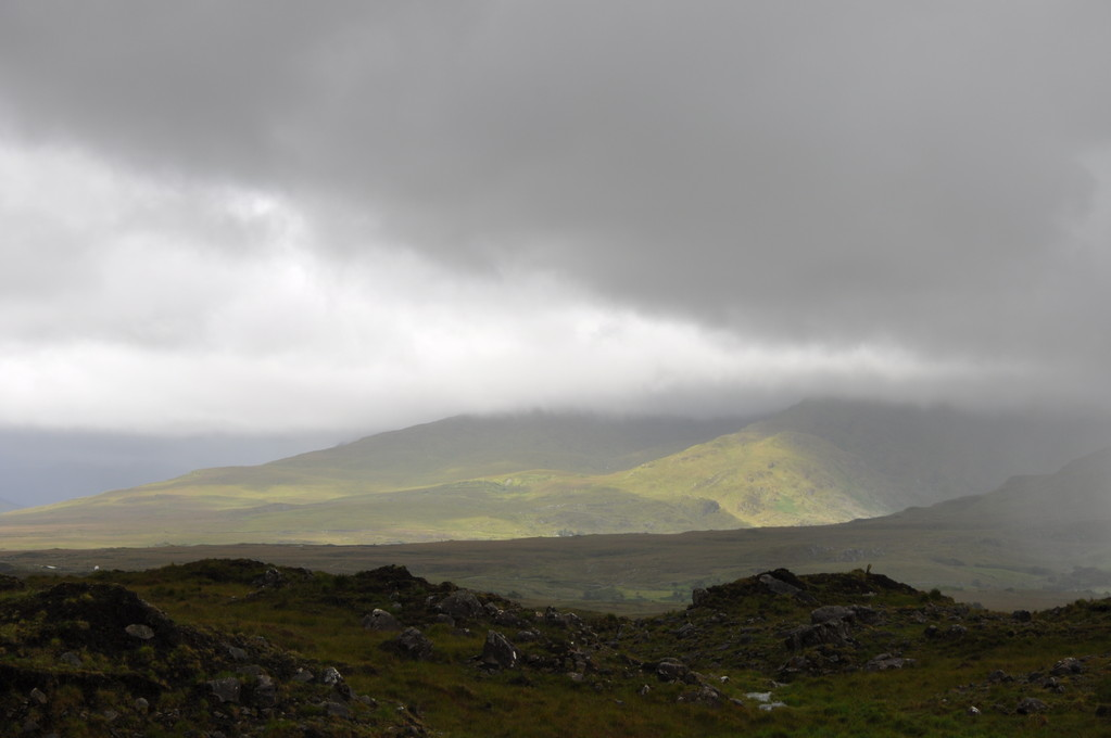 Immensité sauvage du Connemara