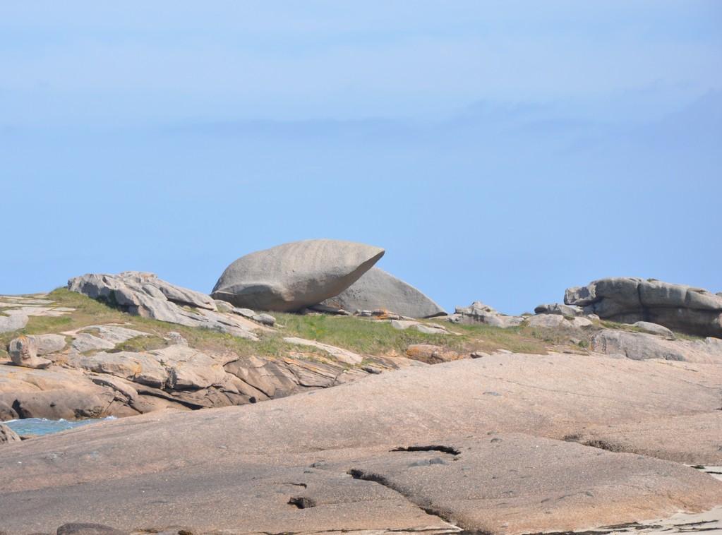 ... et les rocs prennent d'étranges formes !