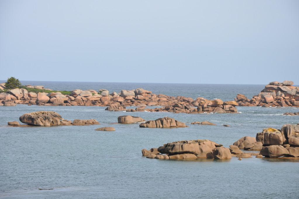 Rochers de granit rose à Ploumanac'h