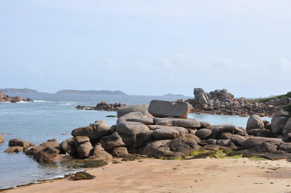 Il y a même des rochers rectangulaires
