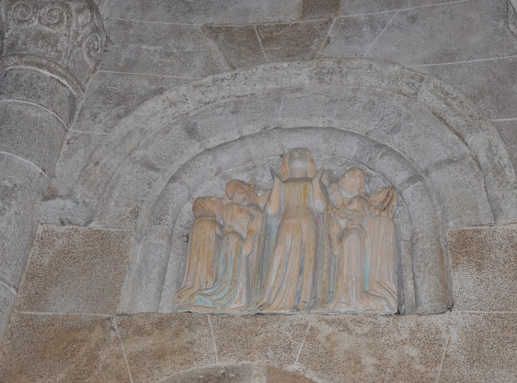 Groupe sculpté de l'Ascension (13ème siècle)
