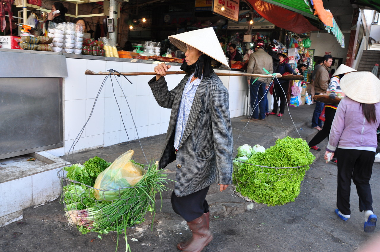 Dalat : au marché