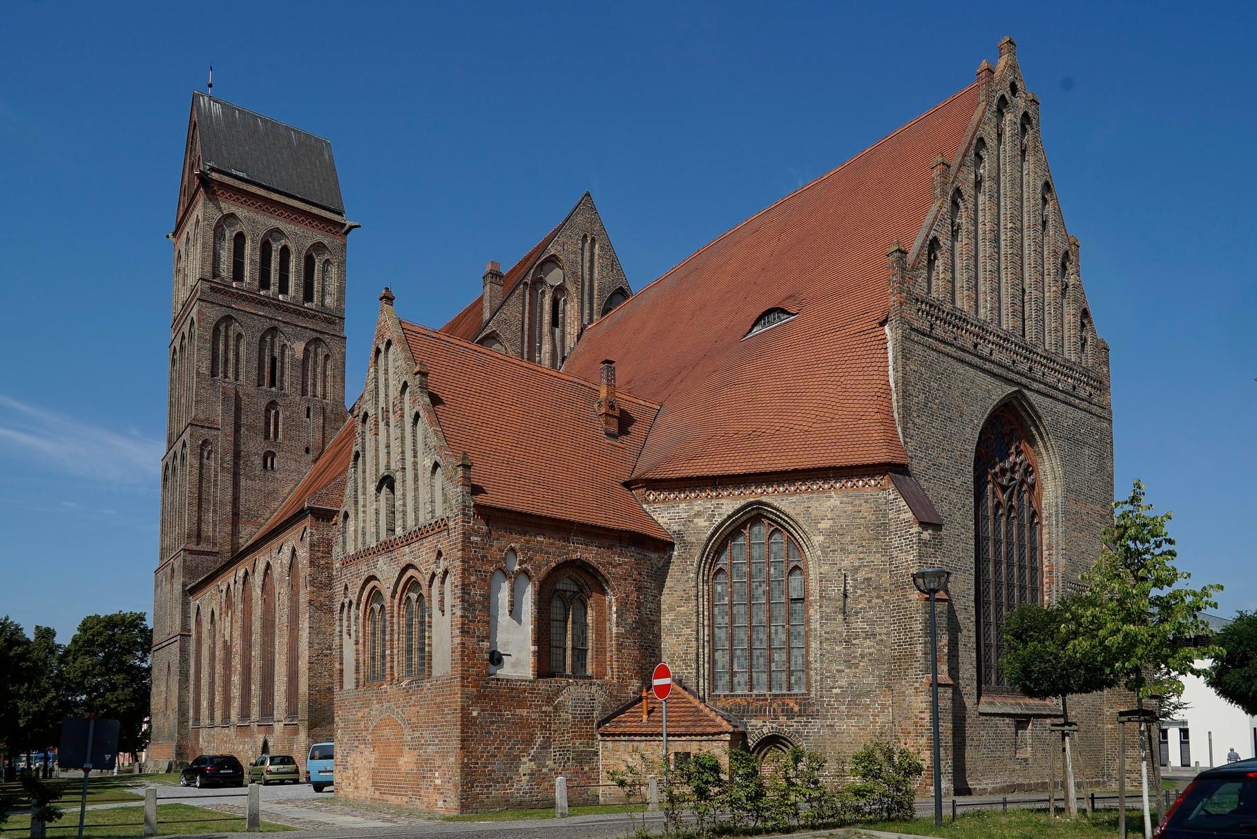 Das erste Ziel war die St. Marienkirche in Anklam.