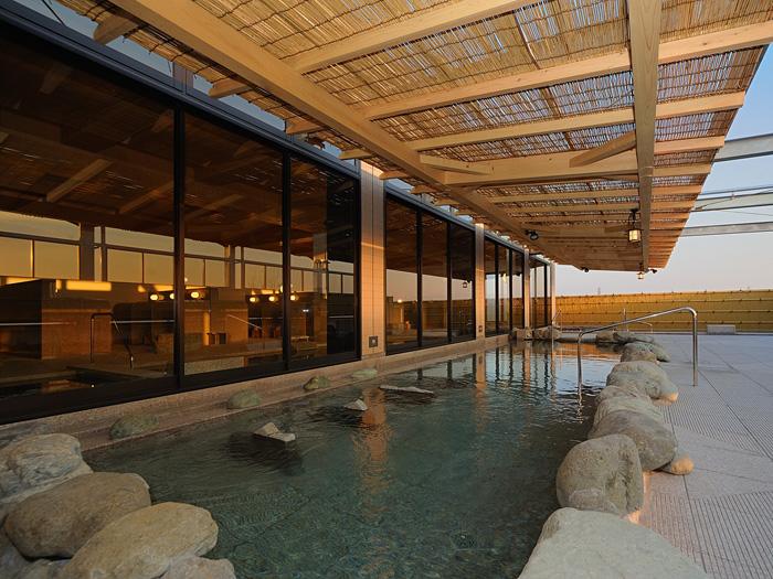 東京出張で万葉の湯に一泊