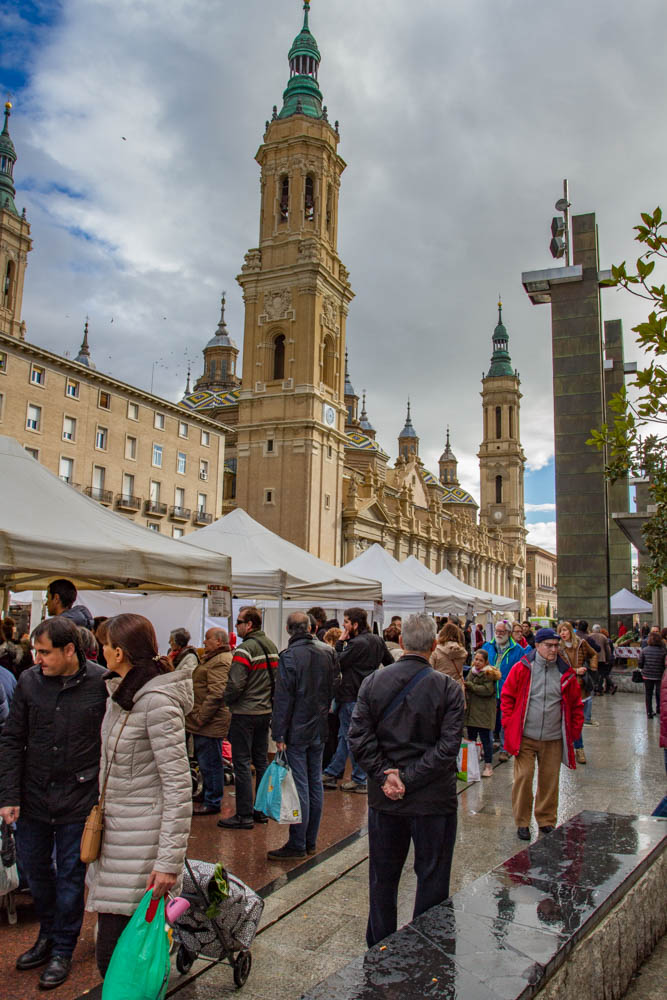 Zaragoza organic farmers market