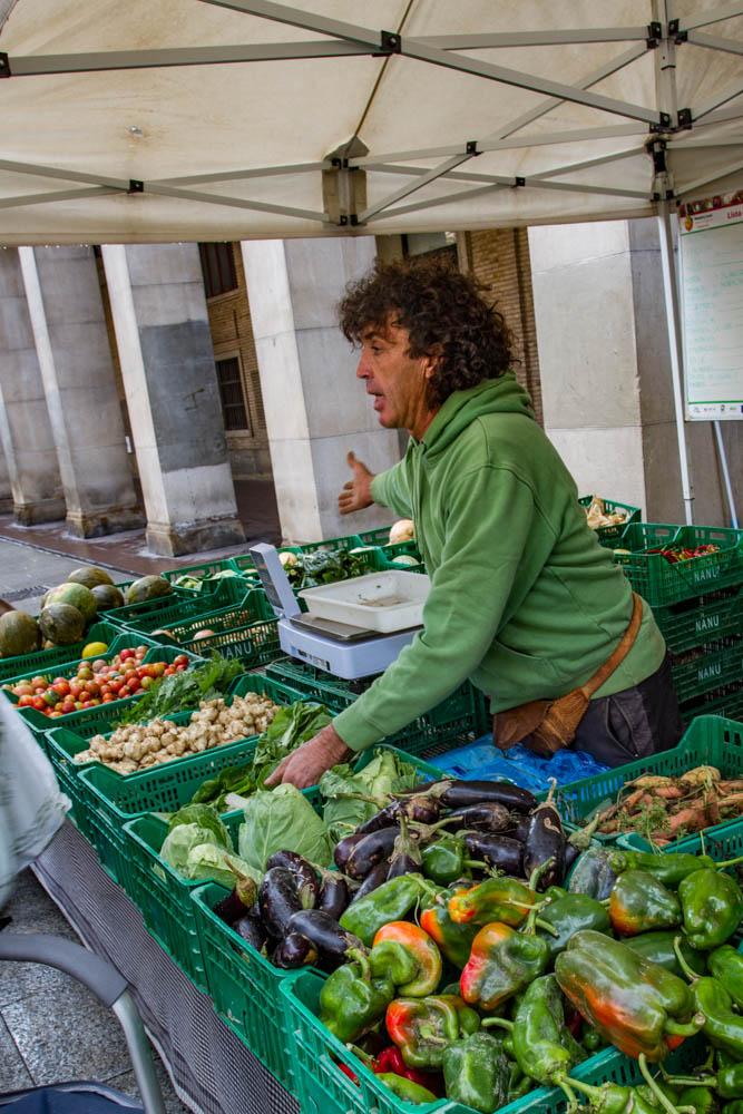 farmers market Spain