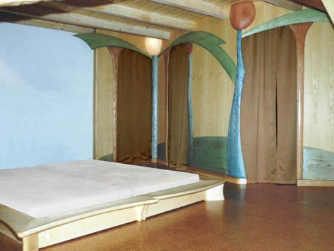 Verspieltes Schlafzimmer aus Tausendundeiner Nacht