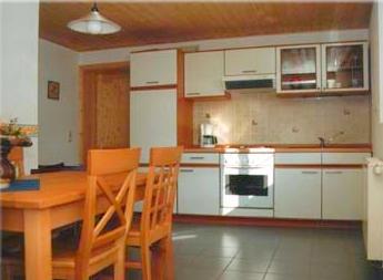 Küche Ferienwohnung Eifel