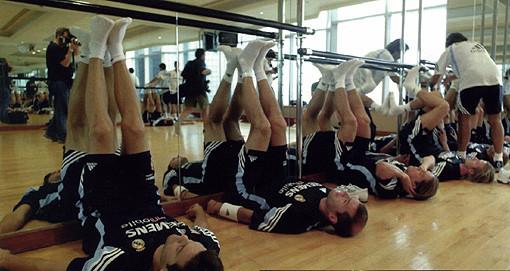 SGA, en el CF Real Madrid