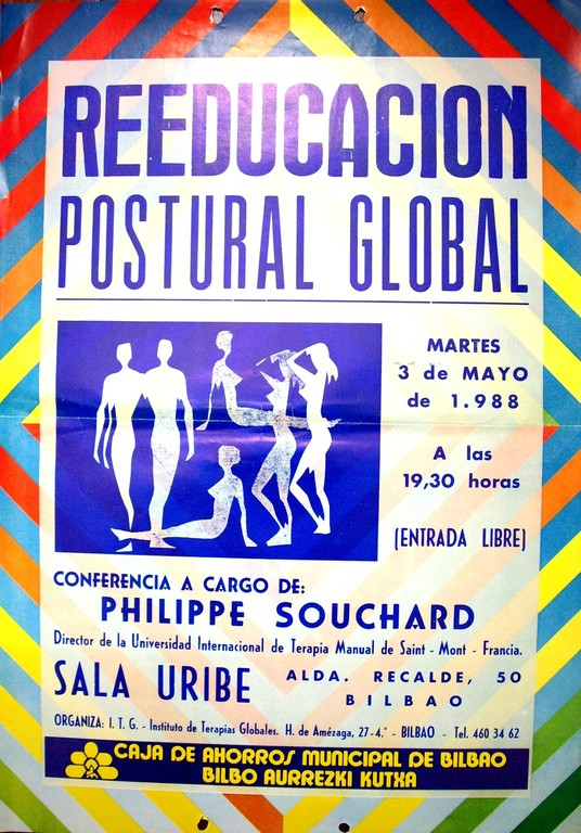 1ª Conferencia de RPG dictada por Ph.E. Souchard en Bilbao, 1988
