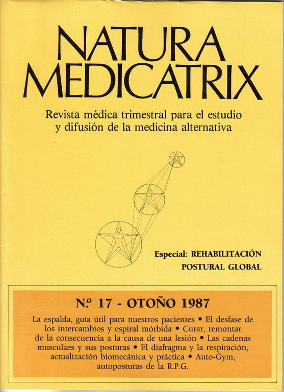 Monográfico de la revista Natura Medicatrix, dedicado a la RPG, 1987