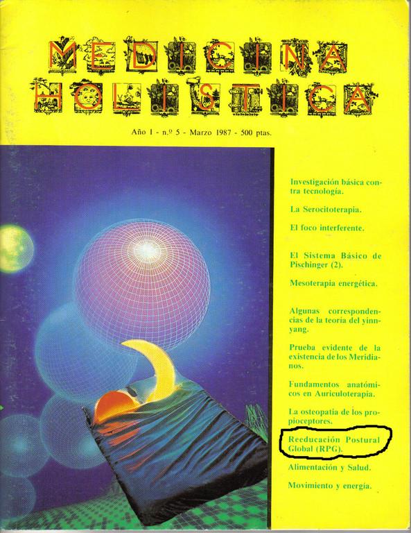 1er artículo sobre RPG publicado por Aittor Loroño en la Revista Medicina Holística, 1987.