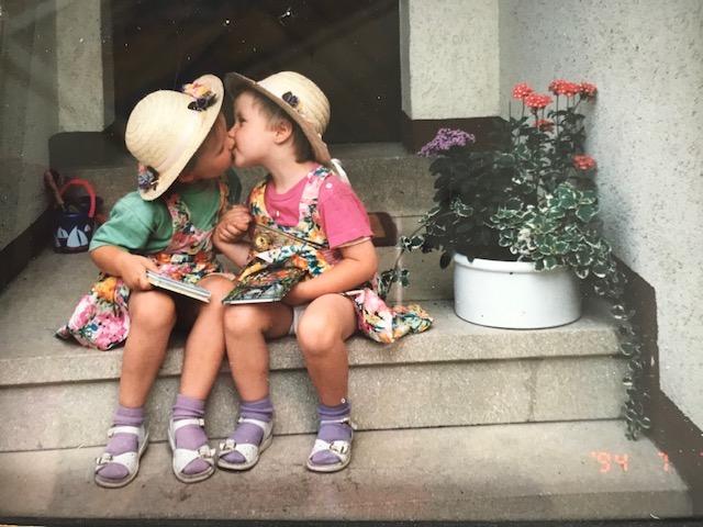 Doppelte Liebe Doppeltes Glück Doppelte Dankbarkeit