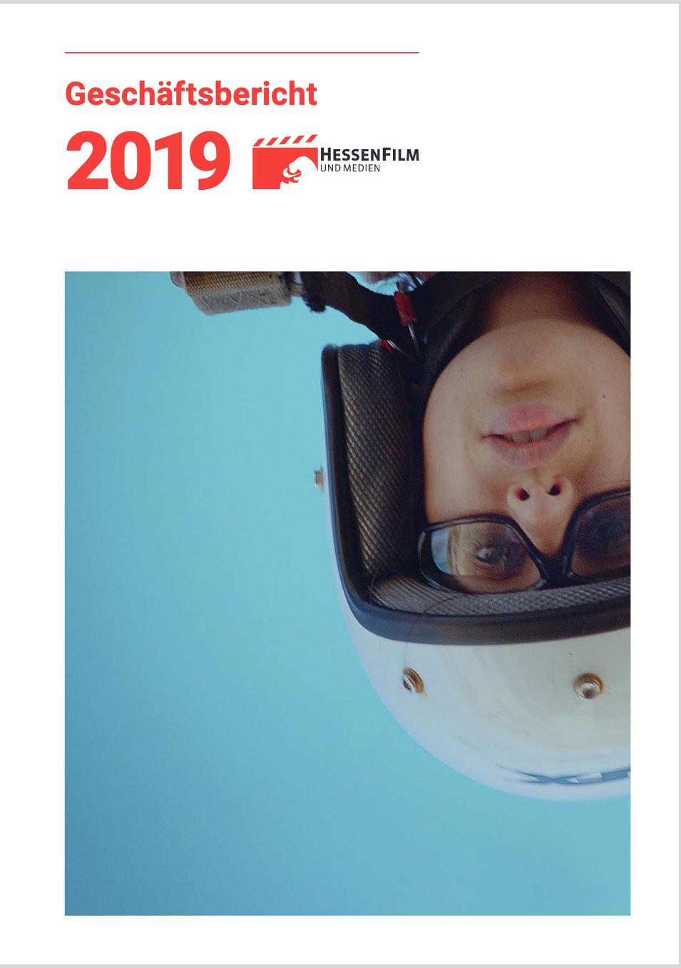 Interview im Geschäftsbericht der HessenFilm 2019