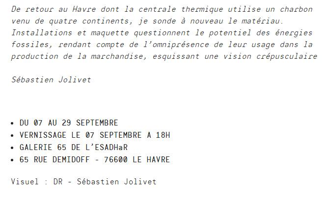Sébastien Jolivet Le Havre