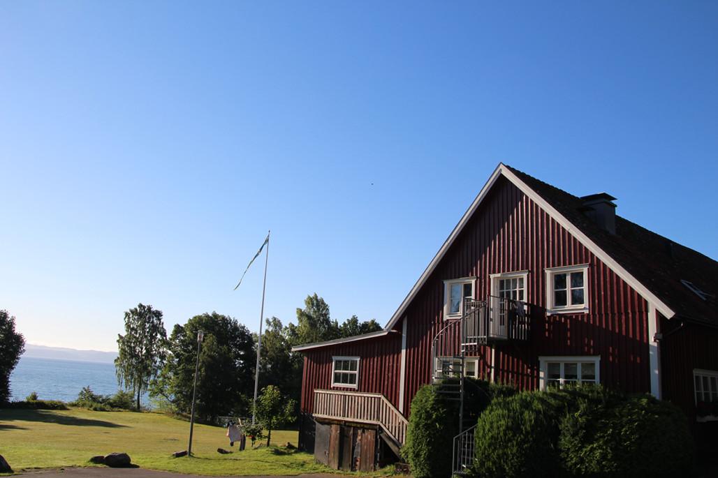 Unser Gruppenhaus – Munkaskog Ungdomsgård. Gesprochen, wie man's schreibt.