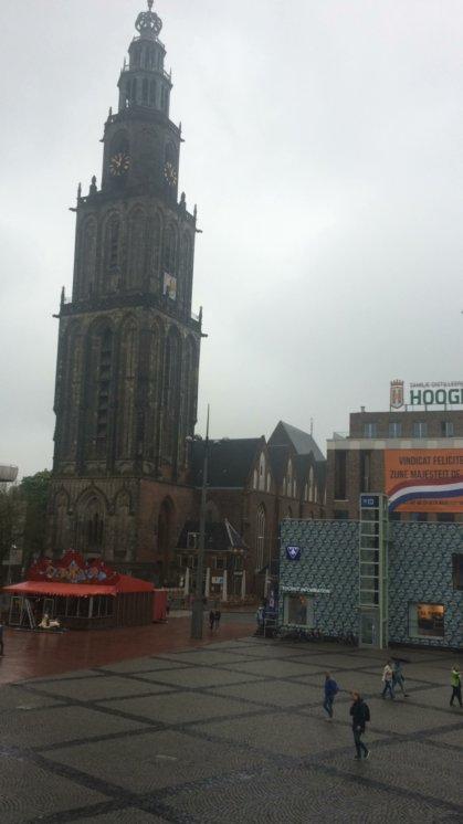 Der Martinsturm, Wahrzeichen Groningens.