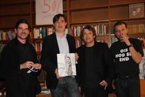 Tilman Eder, Georg Thiel, Johannes Tichy und Walter Grossmann