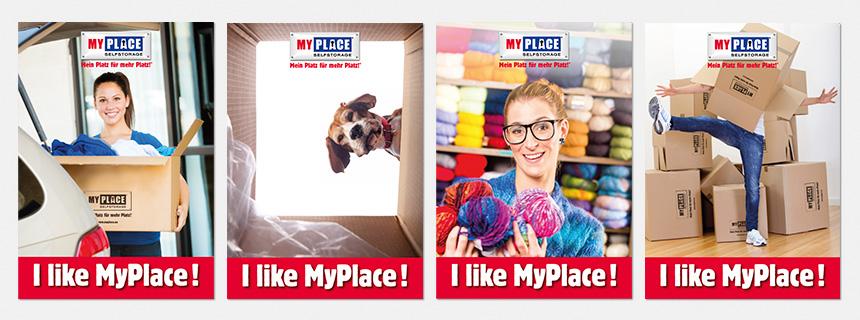Innenposter MyPlace - SelfStorage