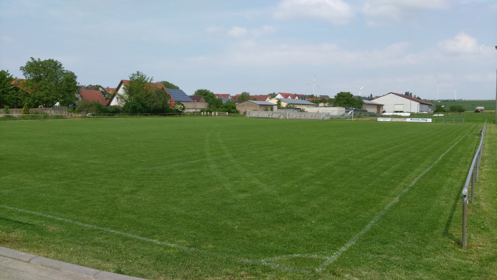 altes Fußballfeld