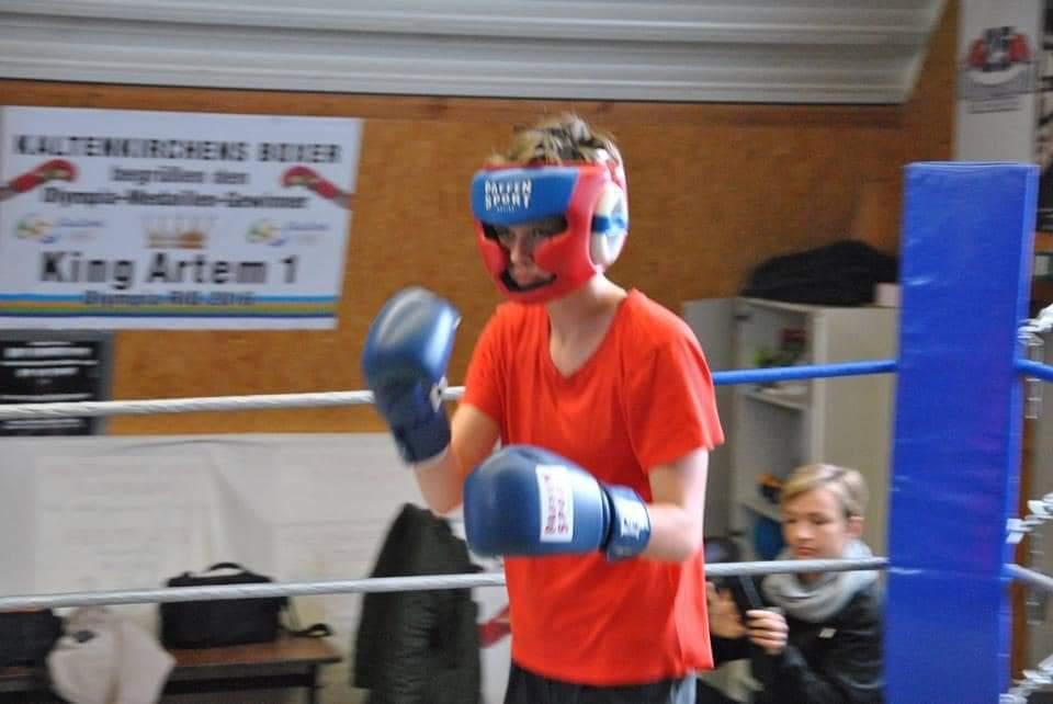 Wettkampfsparring von Annine Gerhard