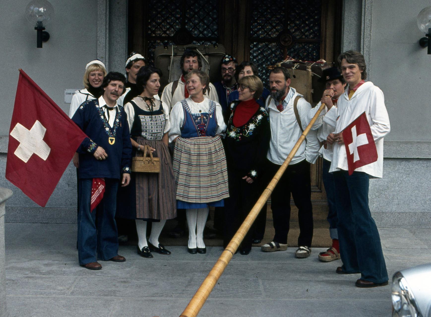 1977 Chacheler Reise Tessin