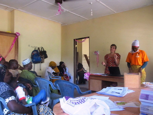 Johanna vom Haskey-Projekt klärt auf über verschiedene Behinderungen