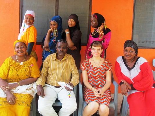 Mitarbeiter, Freiwillige und Vorsitzender von Haskey-Project Ghana